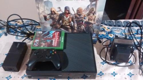 Xbox One Fat 500gb (usa - 110v) + 1 Joystick Y Juego