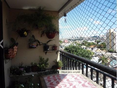 Apartamento Residencial Em São Paulo - Sp, Jardim Bonfiglioli - Apv2174