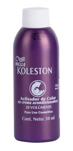 Activador De Color Wella Koleston 30 Volumenes 50 Ml