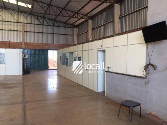 Barracão Para Alugar Por R$ 8.000/mês - Distrito Industrial Doutor Carlos Arnaldo E Silva - São José Do Rio Preto/sp - Ba0157
