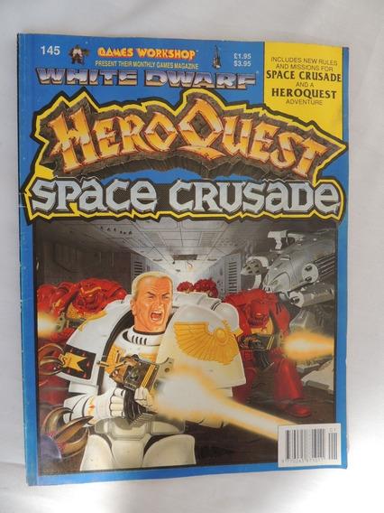 Revista Games Workshop - Hero Quest - Space Crusade