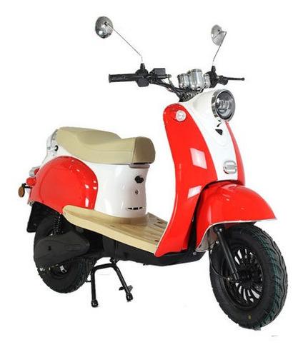 Moto Scooter Electrica Retro E-life Motor Bosch 2000 Watts