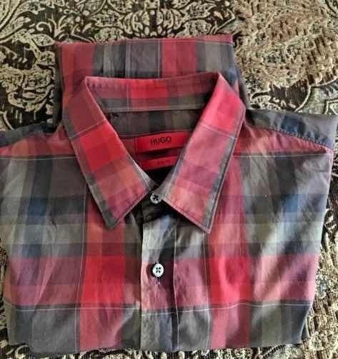 Camisa De Hombre Hugo Boss