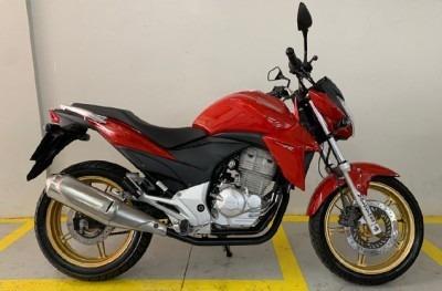 Motocicleta Honda Cb 300r 2015 Vermelha