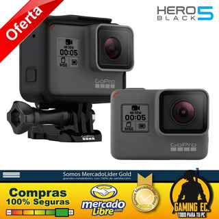 Gopro Hero 5 Black Pantalla Táctil 4k Hd Video 12mp