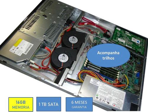 Servidor  Rack  Supermicro Quad Core 16gb Hd 1tb