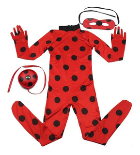Fantasia Miraculous Ladybug Festa Infantil