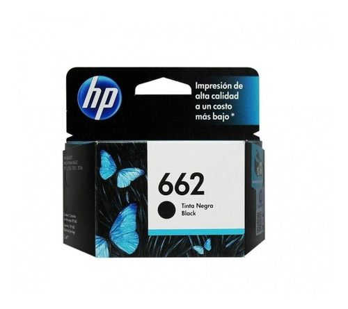 Cartucho Hp 662 Negro Original Cz103al