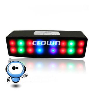 P O T E N T E Parlante Bluetooth + Usb + Radio + Luces Led!