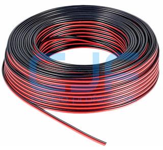 Cable Parlante Bafle Rojo Negro 2 X 0.50 X 50 Metros K Cjf