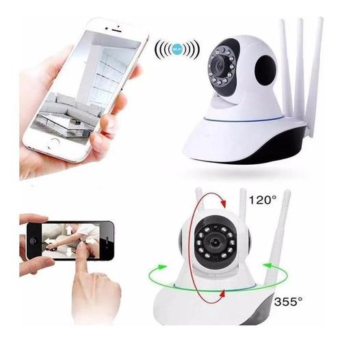 Camara Ip Wifi Seguridad Motorizada 360 Hd Vision Nocturna