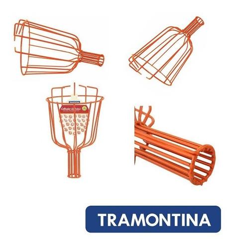 Recogedor Recolector De Frutas Metalico Tramontina