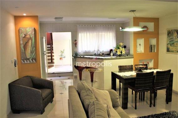 Sobrado Com 3 Dormitórios À Venda, 188 M² Por R$ 0 - Cerâmica - São Caetano Do Sul/sp - So0560