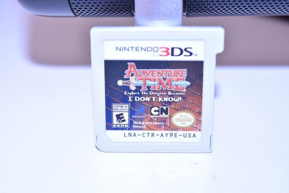 Videogame Hora De Aventura 3ds Sem Capa