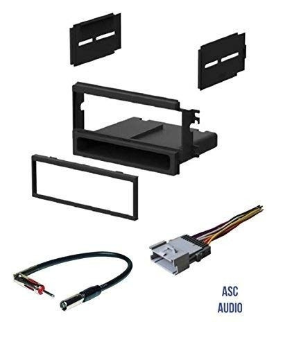 Asc Car Stereo Install Dash Kit, Wire Harness, And Antenna A How To Install A Car Stereo Without Wiring Harness on