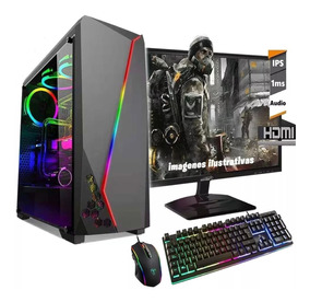 Pc Completa Amd Athlon 3.2ghz 1tb Rx550 2gb Gamer Fortnite