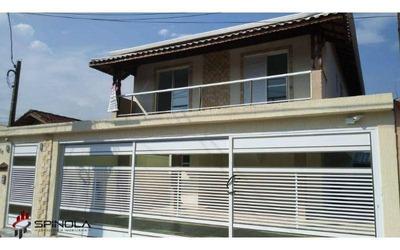 Casa Com 2 Dormitórios À Venda, 53 M² Por R$ 220.000 - Vila Mirim - Praia Grande/sp - Ca1438