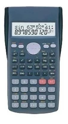Calculadora Científica Com Display De Duas Linhas