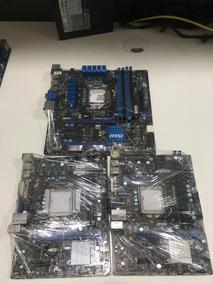 Lote Placa Mãe Intel Lga 1155 H61 Com Defeito Para Reparo