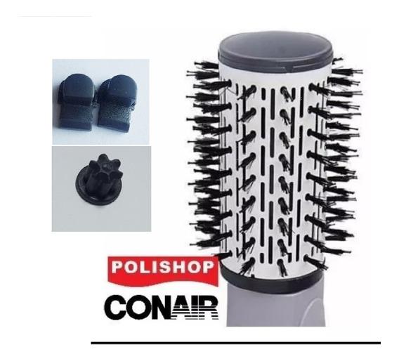 Cerdas Escova Conair Original Polishop + Travas + Engrenagem
