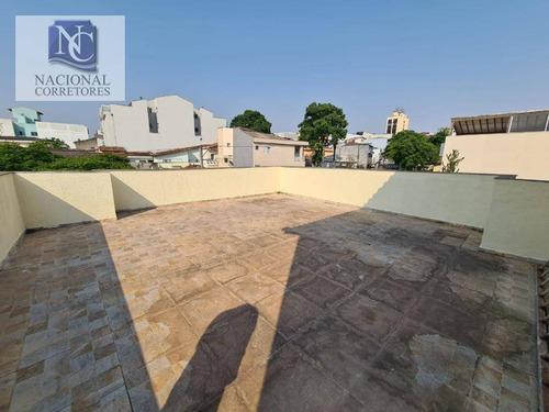 Imagem 1 de 20 de Cobertura Com 2 Dormitórios À Venda, 122 M² Por R$ 285.000,00 - Parque Das Nações - Santo André/sp - Co4893