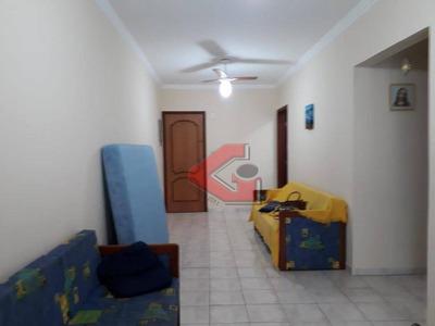 Apartamento Com 1 Dormitório À Venda, 63 M² Por R$ 235.000 - Canto Do Forte - Praia Grande/sp - Ap2815