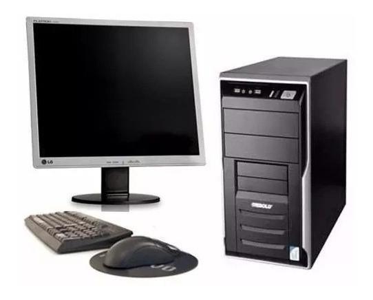 Cpu Semi Nova Pentium 4 2gb Hd 250gb + Monitor 17 Garantia