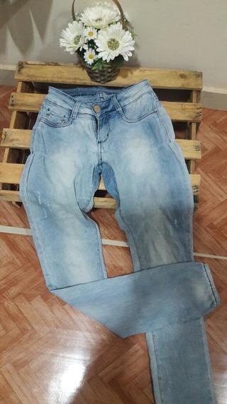 Calça Jeans 36 Lycra