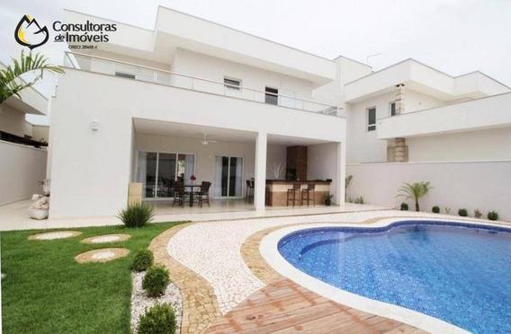 Casa Com 3 Dormitórios À Venda, 278 M² Por R$ 1.400.000 - Condomínio Athenas - Paulínia/sp - Ca0206