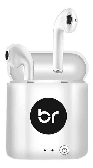 Fone De Ouvido Bluetooth Bright Whitesound 0513 Sem Fio