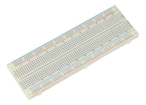 Protoboard 830 Pontos Branco