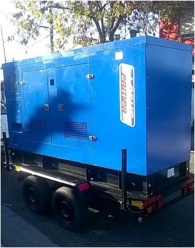 Trailers Para Grupos Electrógenos Para 2000kg Doble Eje
