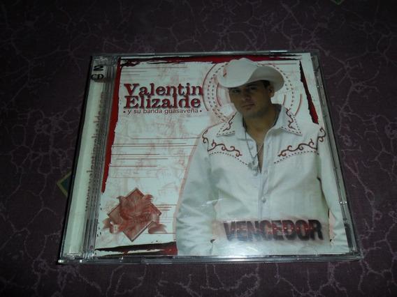 Valentin Elizalde Vencedor Cd Y Dvd Buenas Condiciones