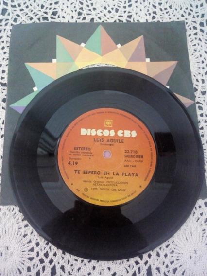 Luis Aguile Simple Disc (disco De Vinilo)
