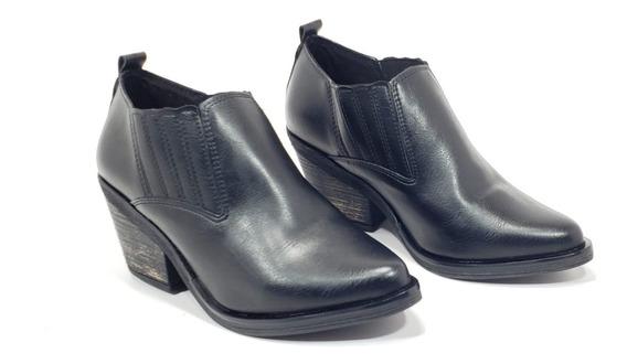 Zapatos Mujer Texanas Charritos Invierno 2020 Savage Gz 751