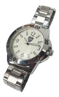Reloj Metalico Boca Con Llavero De Regalo