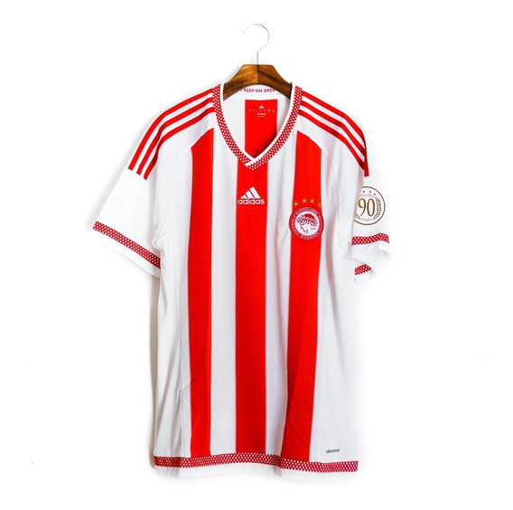 Camisas Masculinas Futebol Olympiakos 2015/16 90 Anos adidas
