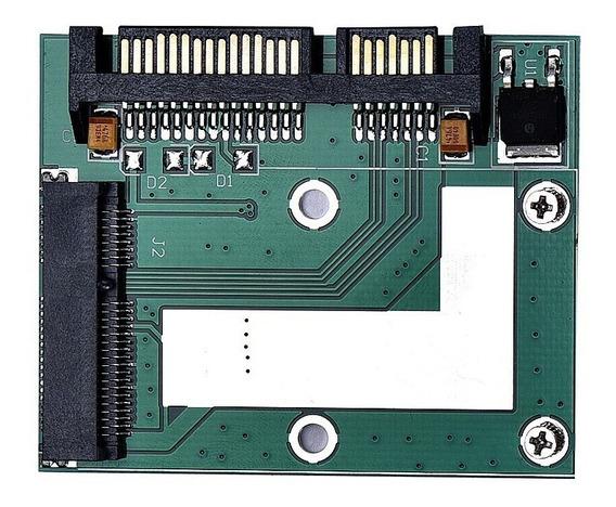 4 Unid Adaptador Sata M-sata Ssd Pc Notebook Conversor Msata