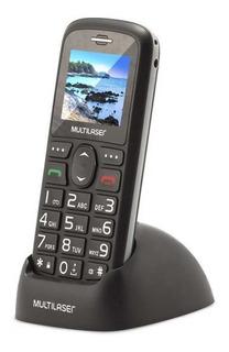 Celular Vita 3g Dual Chip Usb E Bluetooth Tela 1,8 Pol Preto