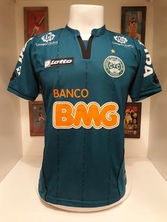 Camisa Futebol Coritiba Lotto Banco Bmg