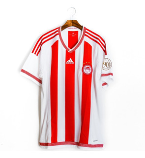 Camisa Futebol Masculino Olympiakos 2015/16 90 Anos adidas