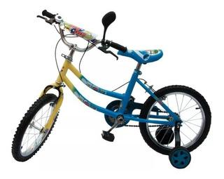 Bicicleta Rodado 16 X 5 Unidades En Caja - T V