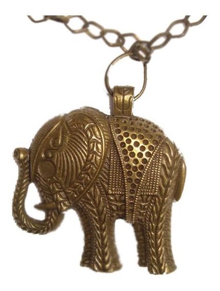 Lindisimo Collar C/colgante Elefante Envio Gratis+cuotas !