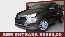 Hyundai Hb20 1.0 Comfort Plus Flex 2017/sem Entrada R$999,00