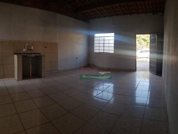 Casa Com 2 Dormitórios À Venda, 80 M² Por R$ 150.000 - Flor Do Vale - Tremembé/sp - Ca3784