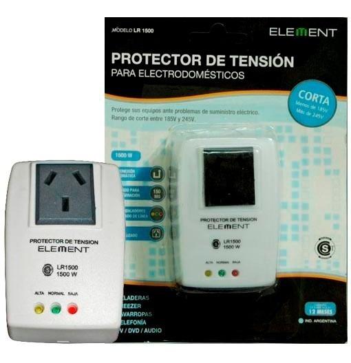 Protector Tensión Heladeras Freezer Lavarropas 1500w Lr1500