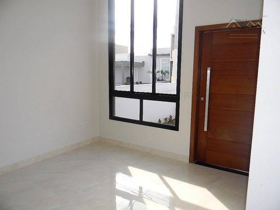 Casa Com 3 Dormitórios À Venda, 105 M² Por R$ 490.000,00 - Condomínio Montreal Residence - Indaiatuba/sp - Ca0677