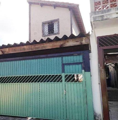 Imagem 1 de 3 de Sobrado Para Venda Em Suzano, Jardim Casa Branca, 1 Dormitório, 2 Banheiros, 2 Vagas - So067_1-1930411