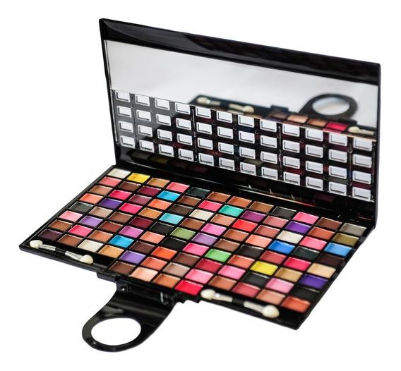 Love Crazy Set 100 Sombras Maquillaje Ojos Con Espejo C.5034