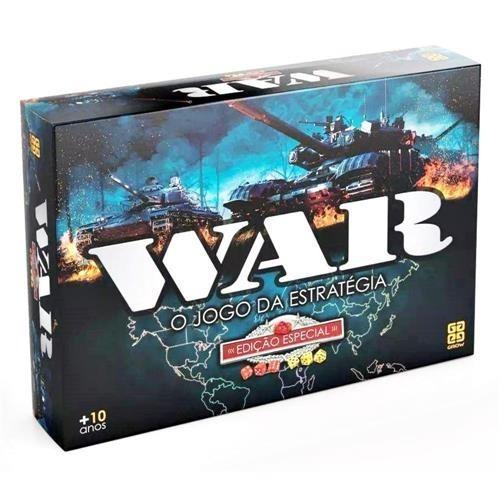 Jogo War Edição Especial Grow - Estratégia